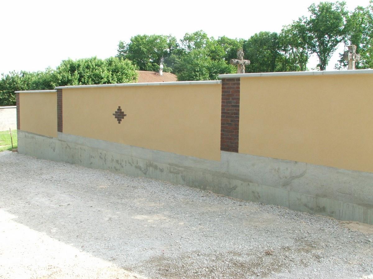Cl tures simode brisson ma onnerie renovation aube - Cloture en brique rouge ...